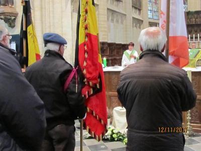 Vlaggengroet in de Kerk