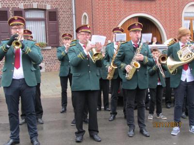 Muzikanten van de Kon.Fanfare Sint-Isidorus